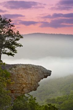 Whitaker Point - Hawksbill Crag, Best Place in Arkansas to Get Kissed!