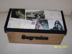 O Baú das Ideias - Artes decorativas: Caixa Recordações
