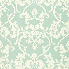 Thibault Gatehouse Owensboro wallpaper aqua colorway T4774