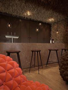 twister restaurant bar interior design