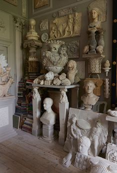 'I rescue all these objects and take them into my orphanage of things Peter Hones hoard includes busts, urns and architectural fragments Aesthetic Art, Aesthetic Pictures, Aesthetic Vintage, Art Sculpture, Art Hoe, Art Studios, Architecture, Light In The Dark, Artsy