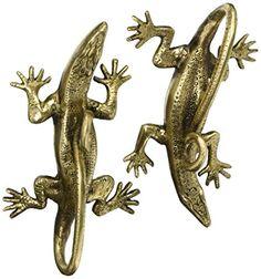 Eyes of India - Pair Brass Lizard Door Handles Cabinet Pulls Bronze Antique Indian Bohemian Accent Boho Chic Handmade Door Pulls, Door Handles, Boho Chic, Bohemian, Bronze, Brass, Pairs, Indian, Cabinet