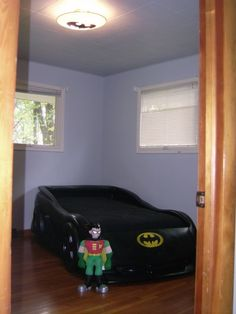 another batmobile bed idea.  For Kason's room.  He has the bed already just gotta get the paint.