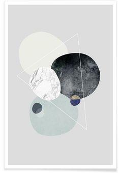 Graphic 89 als Premium poster door Mareike Böhmer   JUNIQE