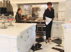 """Kim Kardashian Threatens to """"Take a Pile of S--t and Put It"""" on Kendall Jenner's Bed—See the Outrageous Clip!  KUWTK Clip, Kitchen Poop"""