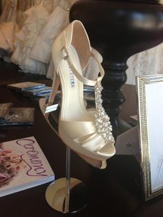 The @David Tutera Shoe Collection is HERE! Visit Lovella Bridal at @The Americana at Brand to purchase your pair(s).