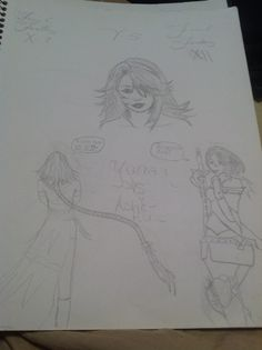 I love to draw. I drew this when I was fourteen...I think.