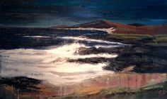 "Another fantastic painting by Kerr ""Crashing Waves'"