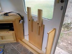 A set of curtains put in and some other stuff done - Airstream Forums