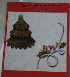 Joy Card by JemLouProductions on Etsy, $3.00