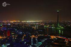 Colombo at night by Chaminda Silva on 500px