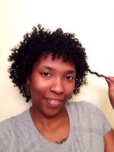 Perm rods work miracles on natural hair