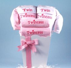 Twincess Gift Basket for Twin Girls