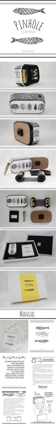 Uma Câmera Pinhole de Lata de Sardinha