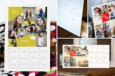 2012 modern calendar template from design aglow