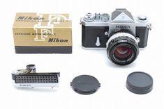 【NEAR MINT】Nikon F Eye Level W/ EXPOSURE METER 50mm f/1.4 S/N 715XX #179 #Nikon