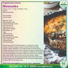 Other Recipes, Whole Food Recipes, Diet Recipes, Vegetarian Recipes, Cooking Recipes, Healthy Recipes, Bobotie Recipe, Goat Milk Recipes, Lean Protein Meals