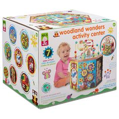 Amazon.com: ALEX Jr. Woodland Wonders Activity Center: Toys & Games