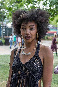 Natural Hair Street Style | POPSUGAR Beauty