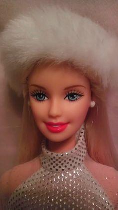Winter White Fur Barbie Fashion Doll M C 4 Christmas Display or OOAK | eBay