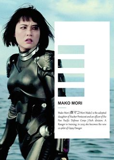 Mako Mori. Pacific Rim. Movies Must See, Rinko Kikuchi, Gipsy Danger, Fortune Favours, Fighting Robots, Strong Character, Fiction Movies, Funny As Hell, Janet Jackson
