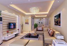 Desain Plafon Ruang Tamu Cantik