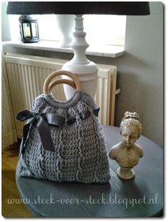 124 Beste Afbeeldingen Van Tassen Breien En Haken Crochet Purses