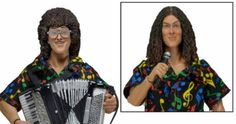 'Weird Al' Yankovic Action Figure Unveiled by NECA Toys -- After 40 years, parody king 'Weird Al' Yankovic is finally getting his own action figure with vintage Al and current Al heads. -- http://movieweb.com/weird-al-yankovic-action-figure-neca-toys/