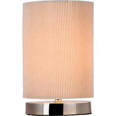 Micro Pleat Table Lamp - Cream at Homebase -- £10