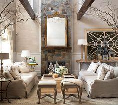 sofas de lino