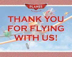 digital disney planes birthday invitation to download - Google Search