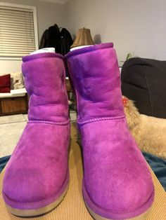 0db4a96a08e Ugg Classic Youth Size 4 Hot Pink  fashion  clothing  shoes  accessories   kidsclothingshoesaccs  girlsshoes (ebay link)
