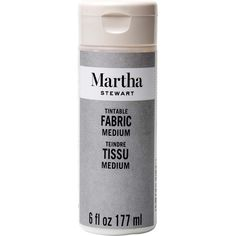Shop Plaid Martha Stewart ® Mediums - Tintable Fabric Medium, 6 oz. - 32194 | Plaid Online