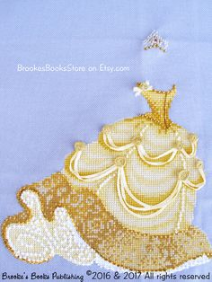 Brooke's Books 3 Belle Beauty and the Beast by BrookesBooksStore cross stitch pattern for sale