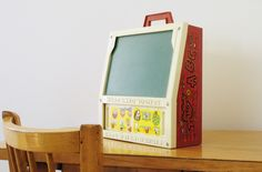 vintage fisher price desk from happy vintage