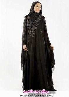 مجموعة من العبايات السوداءللمحجبات من نيو حجاب لعام 2013 شاهدي المجموعة الان المصدر:New Hijab