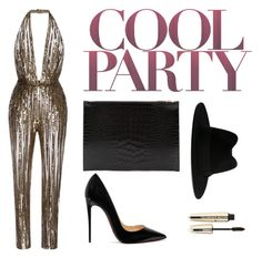 """""""cool party"""" by mia1995fashionlover on Polyvore featuring Elie Saab, Christian Louboutin, Victoria Beckham, Yves Saint Laurent and L'Oréal Paris"""