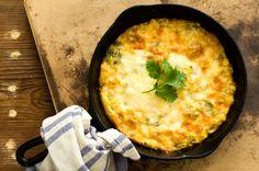 Green chile corn pudding | Homesick Texan