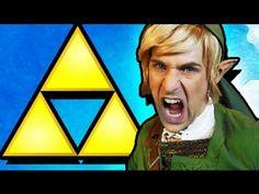 Legend of #Zelda versión rap. Uno de los videos más vistos de la red. Gran letra. Gran producción.