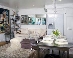 Awesome Open Plan Living Space Small Modern Loft Interior Decor - Decorteen