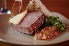 Hearty food made with the finest local produce #DevonshireArms #Pilsley #gastropub #travel #localproduce #Derbyshire #PeakDistrict #food #pate #locallysourced #lunch #foodie