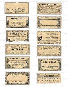 Potion Labels, Bottle Labels, Bottle Packaging, Wine Labels, Food Packaging, Printable Labels, Printables, Labels Free, Free Printable