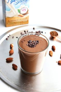 mocha almond coconut smoothie - The Almond Eater