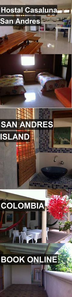Hotel Hostal Casaluna San Andres in San Andres Island, Colombia. For more information, photos, reviews and best prices please follow the link. #Colombia #SanAndresIsland #travel #vacation #hotel