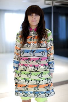 Animals & Neon. Two of my favorite things combined into one fabulous dress.