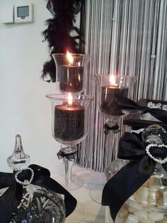 Black and White Birthday Party Ideas   Photo 8 of 12   Catch My Party