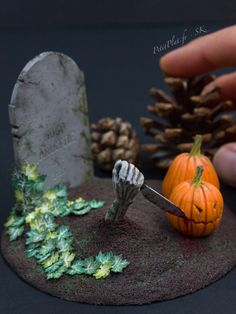 Zombies Want To Carve Pumpkins Too by PetitPlat on DeviantArt
