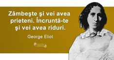 Citat George Eliot George Eliot, Eleanor Roosevelt, Good Advice, Words, Memes, Quotes, Friends, Quotations, Amigos