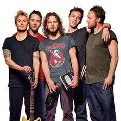 Pearl Jam - The best rock band in the whoooole  world.