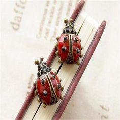 Симпатичные серьги - Божьи коровки) ~ 31 руб.    http://ali.pub/16sgin
